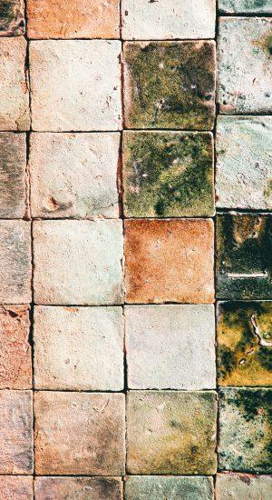 Tomette et sol en terre cuite de réemploi